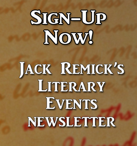 Sign up to Jack Remick's Newsletter here!
